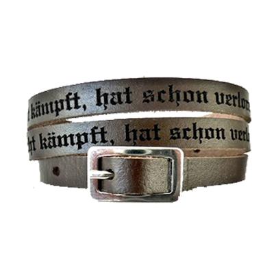 Armband Leder mit Gravur - 0944