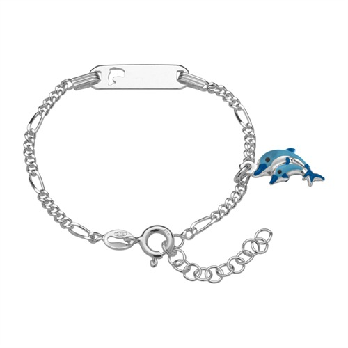 Kinderarmband Silber mit Gravur 0751