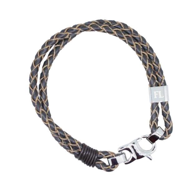 Armband Leder mit Gravur - 0579