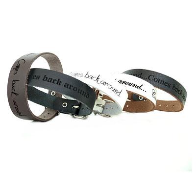 Armband Leder mit Gravur