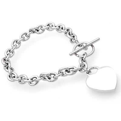 Armband Silber mit Gravur - 0221
